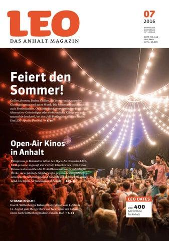 LEO Juli 2016 By LEO U2013 Das Anhalt Magazin   Issuu