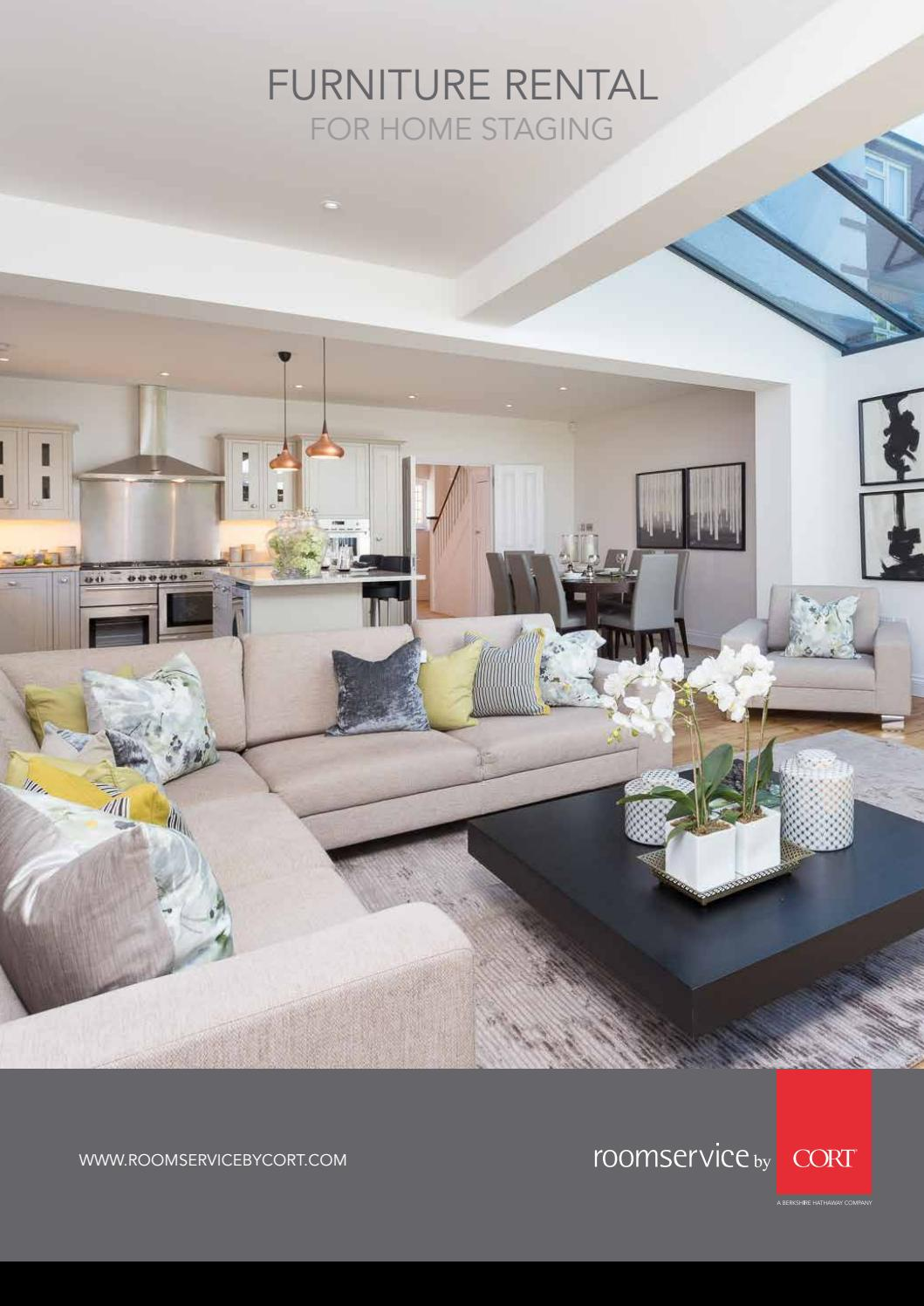 Homestaging Brochure By Roomservice By Cort Issuu
