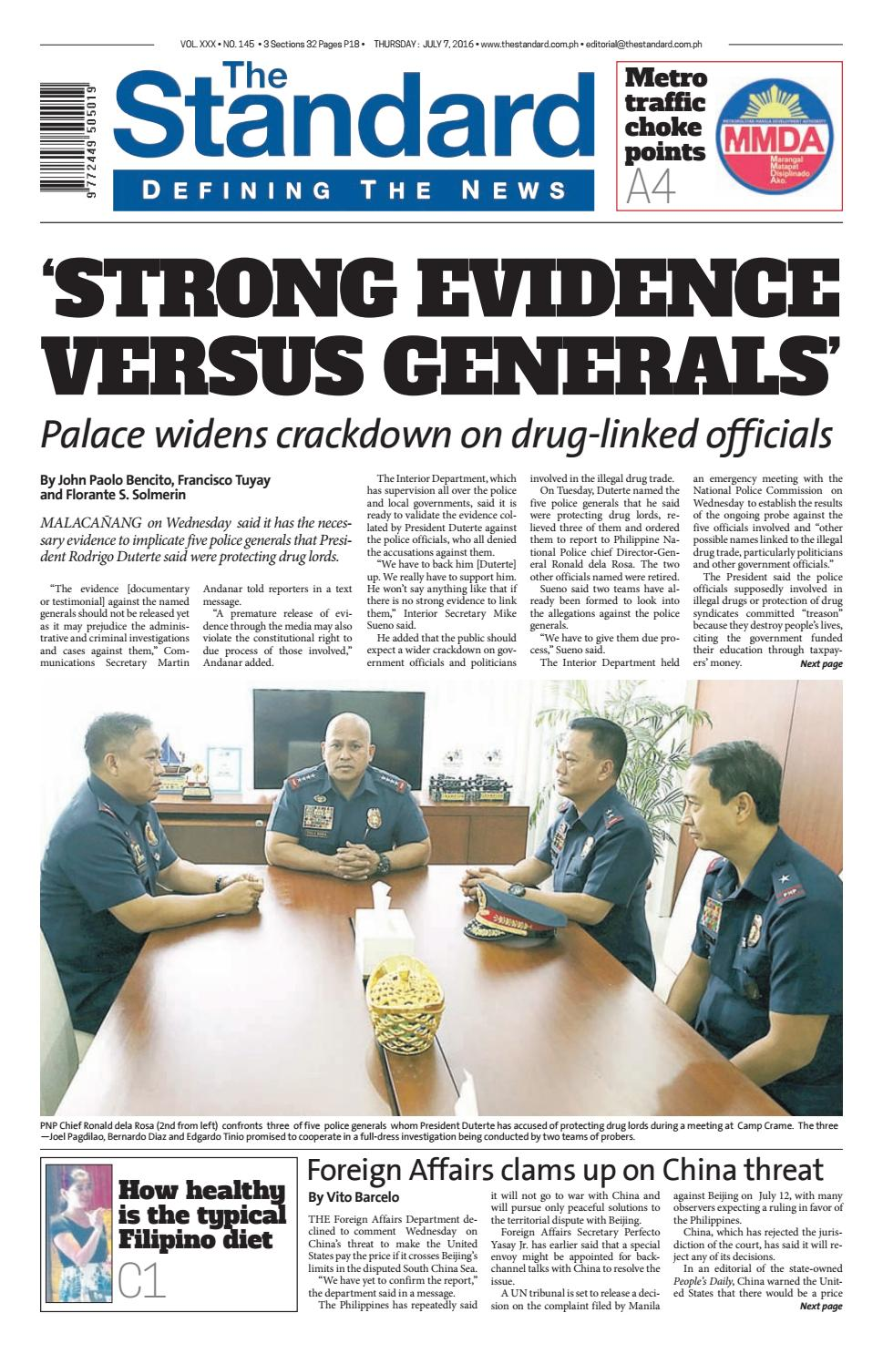 The Standard 2016 July 7 Thursday By Manila Standard Issuu