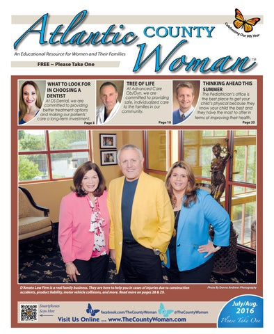 Atlantic County Woman - 2016 July/August