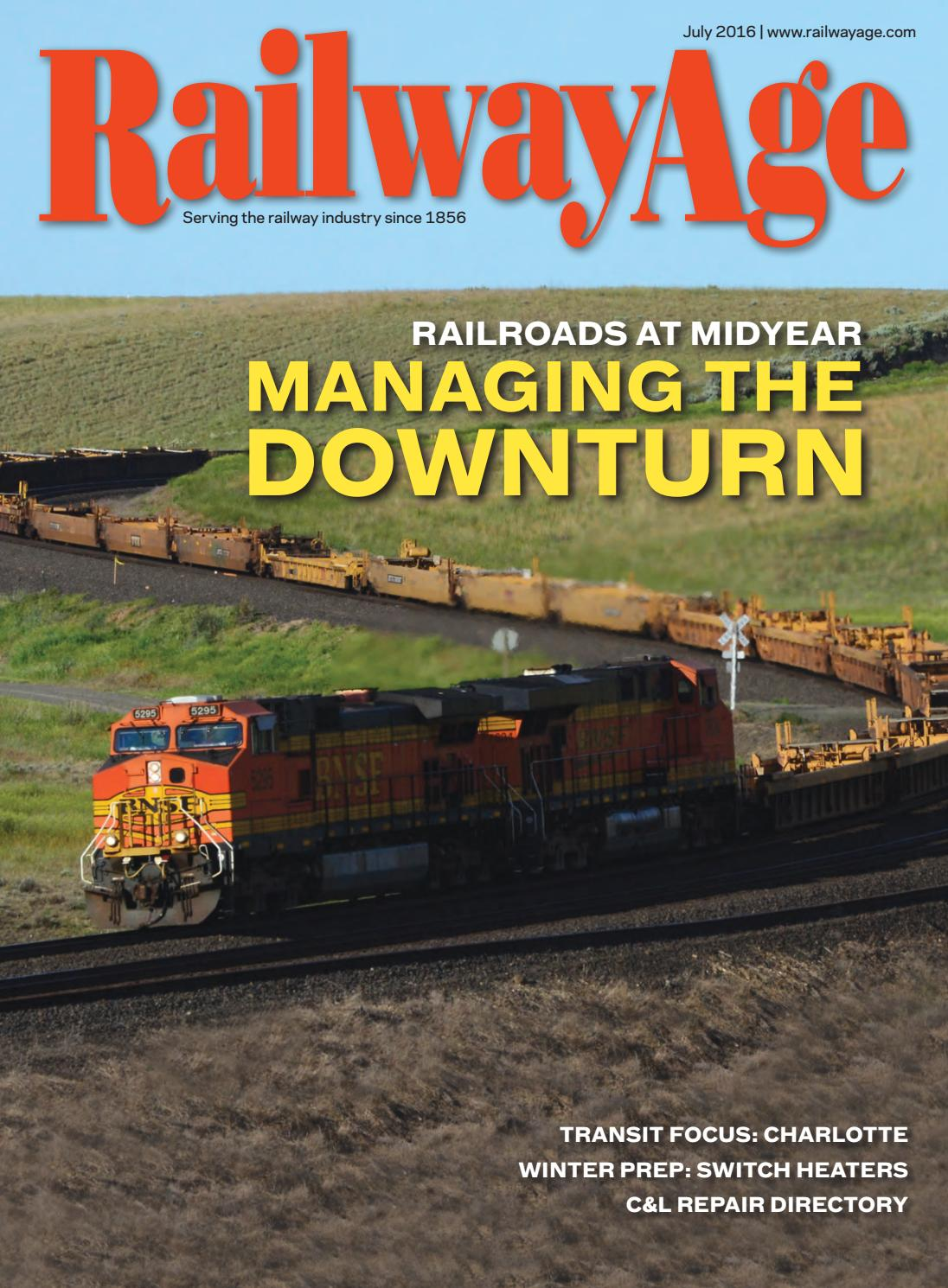 July 2016 Railway Age By Issuu Printed Circuit Board Stock Image F003 0396 Science Photo Library