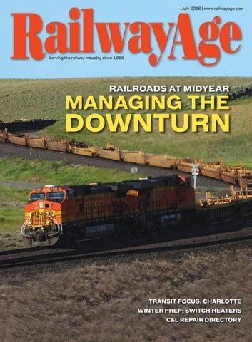 July 2016 Railway Age
