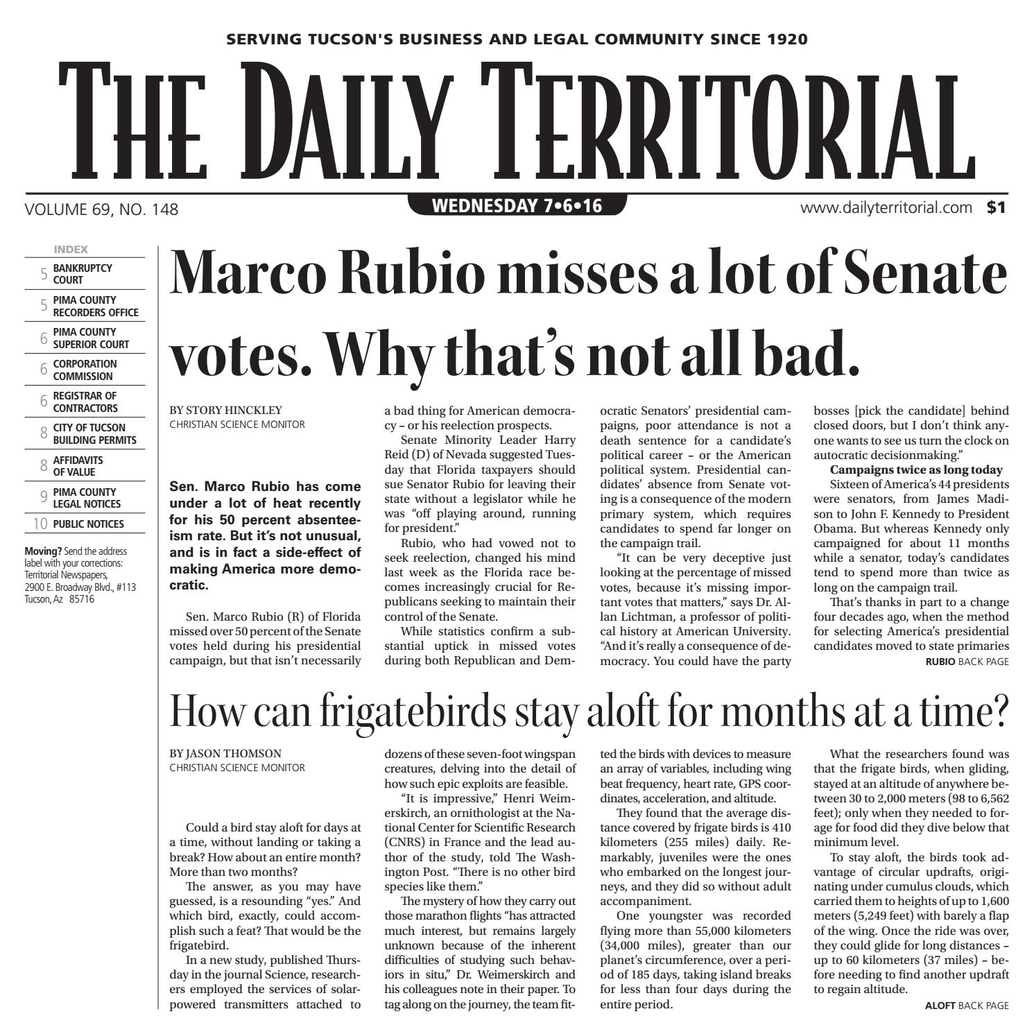 07 06 2016 the daily territorial by wick communications issuu