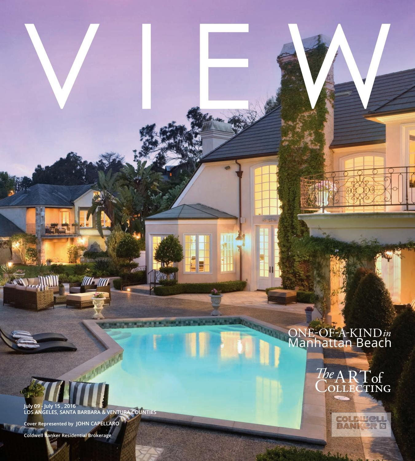 Luxury Beachfront Properties Los Angeles: Greater Los Angeles By Coldwell Banker