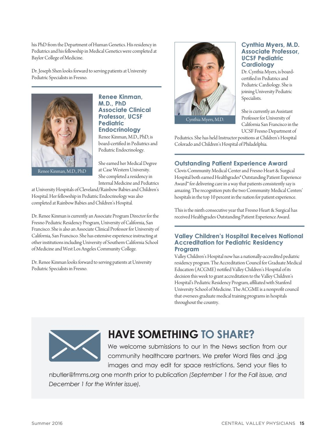 Central Valley Physicians by Fresno-Madera Medical Society - issuu