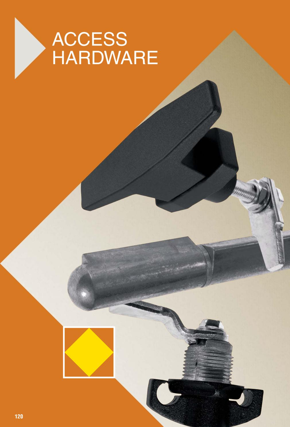 Flexible T-Handle Latches Southco F7-640