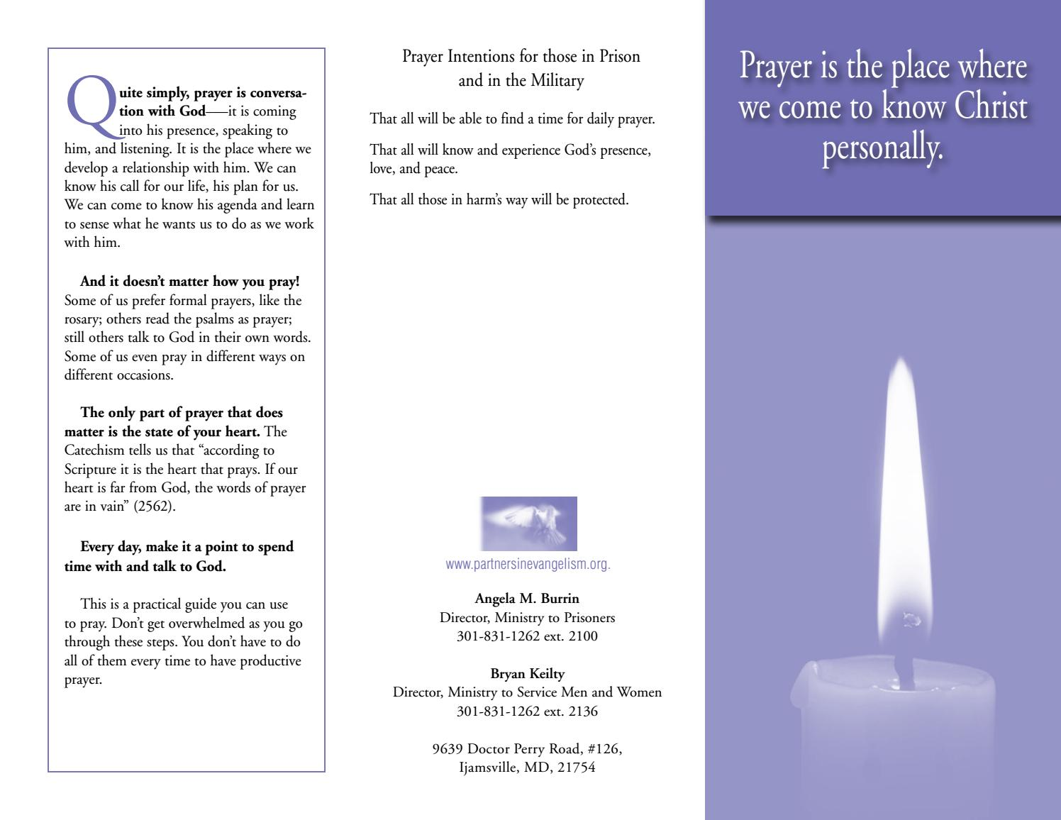How to Pray by The Word Among Us - issuu