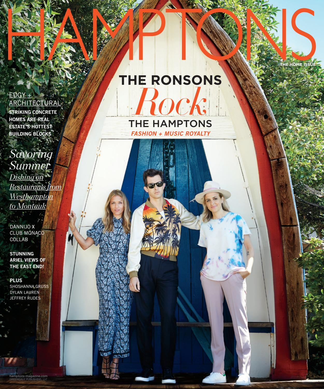 5d6cb5d7a19a9 Hamptons - 2016 - Issue 2 - Home   Design - The Ronsons by MODERN LUXURY -  issuu