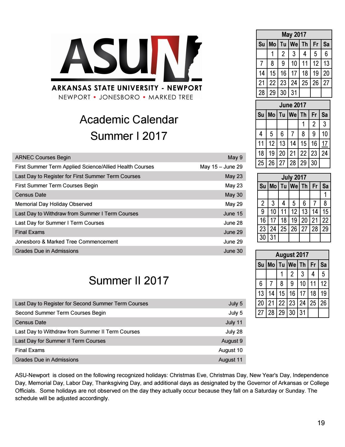 Asu Newport Catalog 2016 2017 By Asunewport Issuu