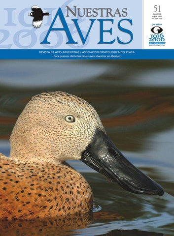 b6fe329b7f320 Nuestras aves nº 51 by Aves Argentinas - issuu