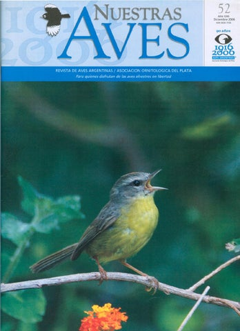 10224ab3c56d0 Nuestras aves nº 52 by Aves Argentinas - issuu