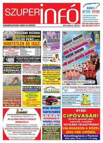 Szuperinfo 2016. 07. 08. by Fricsk Ferenc - issuu 10defcb0b4