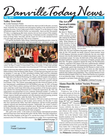 Danville Today News May 2016 by The Editors, Inc - issuu