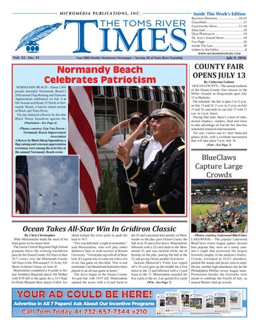 098d46c9e09e 2016-07-09 - The Toms River Times by Micromedia Publications Jersey ...