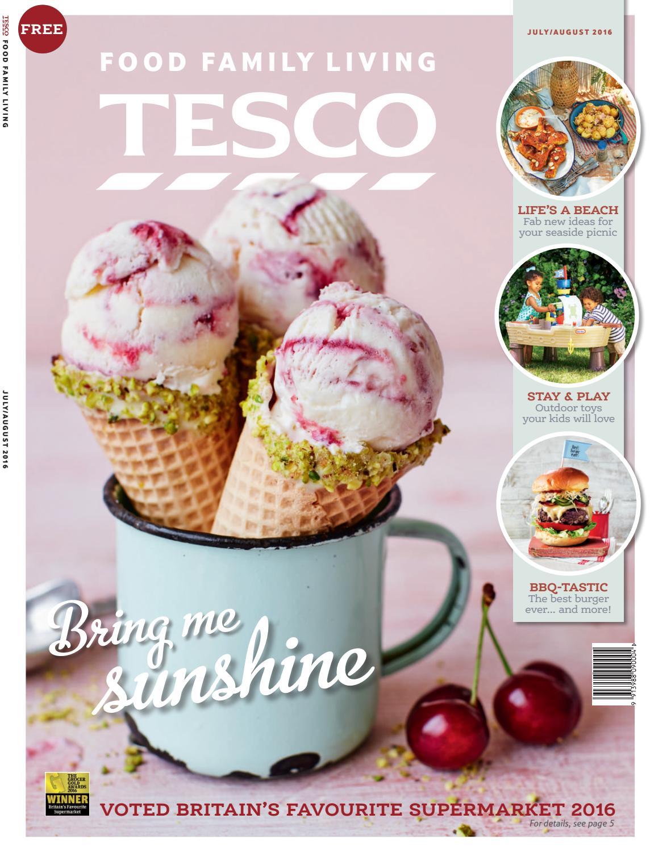 Tesco Magazine Julyaugust 2016 By Tesco Magazine Issuu