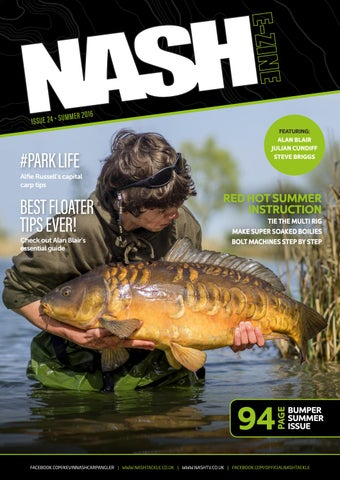 266a6632c3 Ezine July 2016 by Official Nash Tackle - issuu