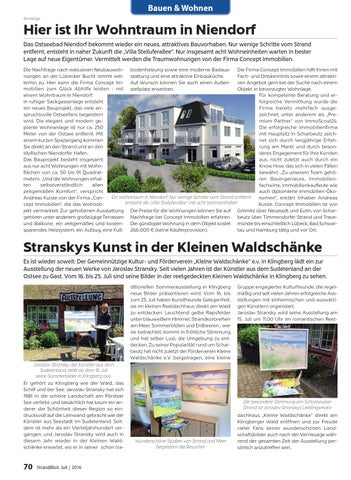 Strandblick Juli 2016 by StrandBlick - issuu