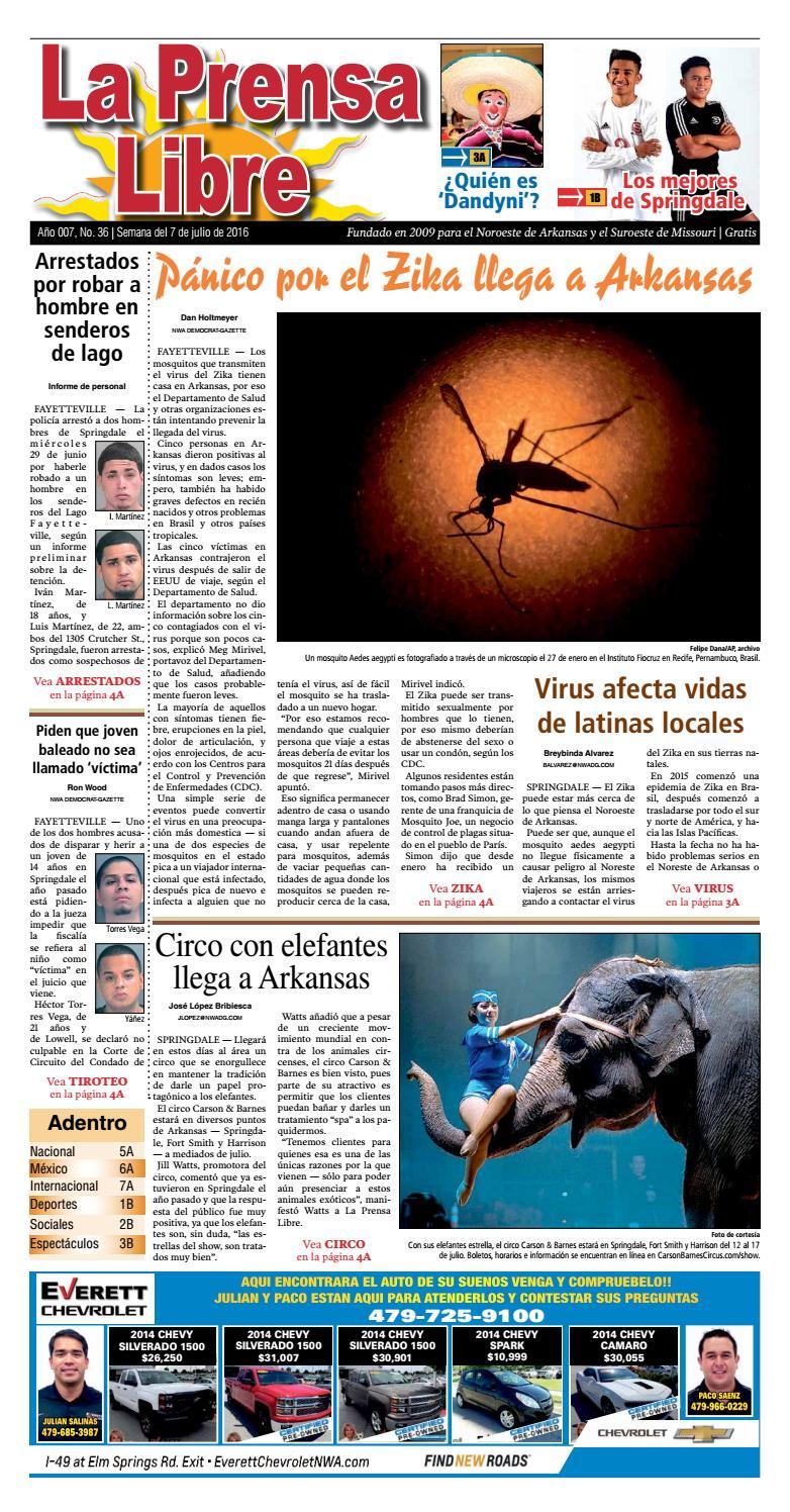 070716 La Prensa Libre by La Prensa Libre de Arkansas - issuu