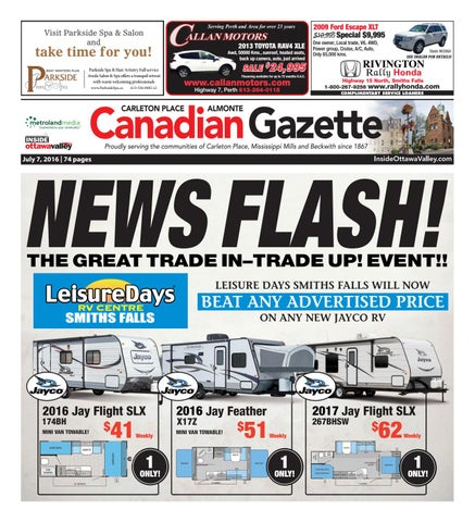 93b6ab9d4e94e Almontecarletonplace070716 by Metroland East - Almonte Carleton Place  Canadian Gazette - issuu