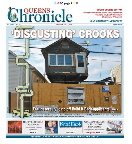 Queens Chronicle South Edition 07 07 16 By Queens Chronicle Issuu