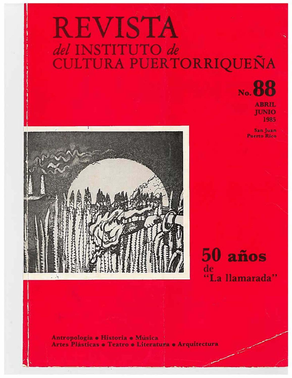 7731b83e Revista del Instituto de Cultura by Colección Puertorriqueña UPR RP - issuu