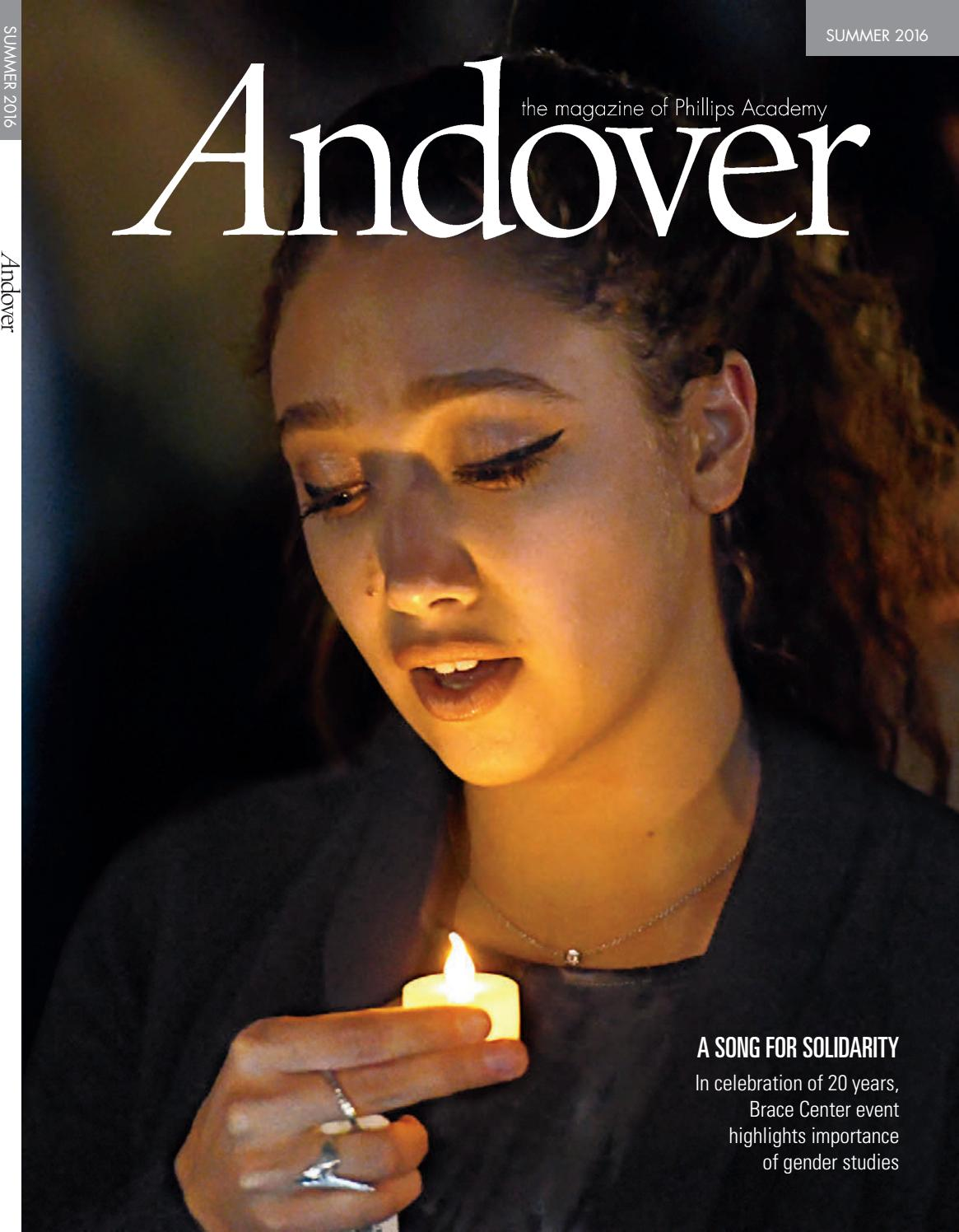 9568ce6a2c0 Andover magazine — Summer 2016 by Phillips Academy - issuu