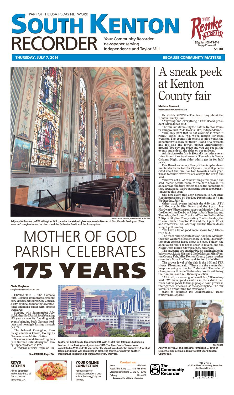 South kenton recorder 070716 by Enquirer Media - issuu