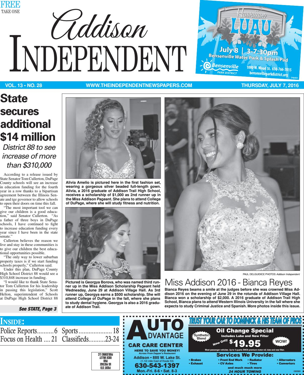 Ai 7 7 16 by Southern Lakes Newspapers / Rock Valley Publishing - issuu