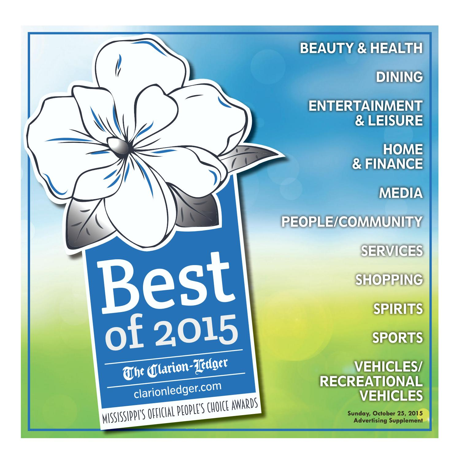 best of 2015 by the clarion ledger issuu