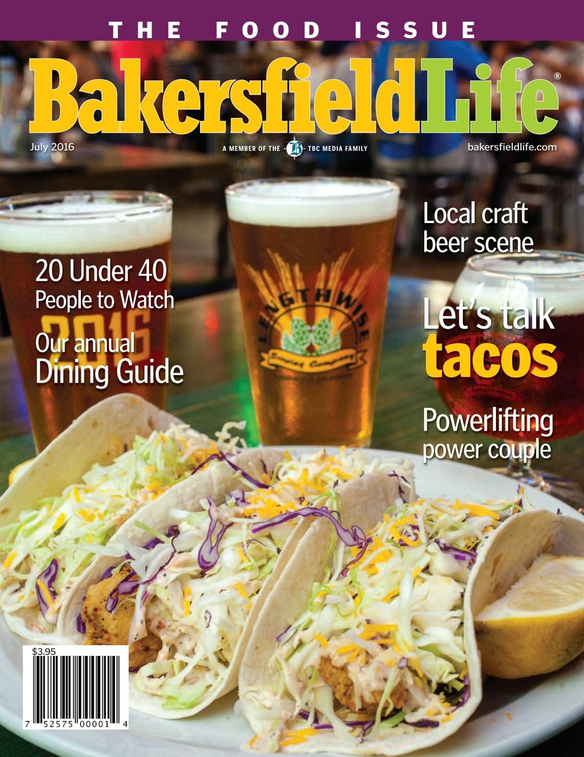 Bakersfield life magazine july 2016 by tbc media specialty for Craft stores bakersfield ca