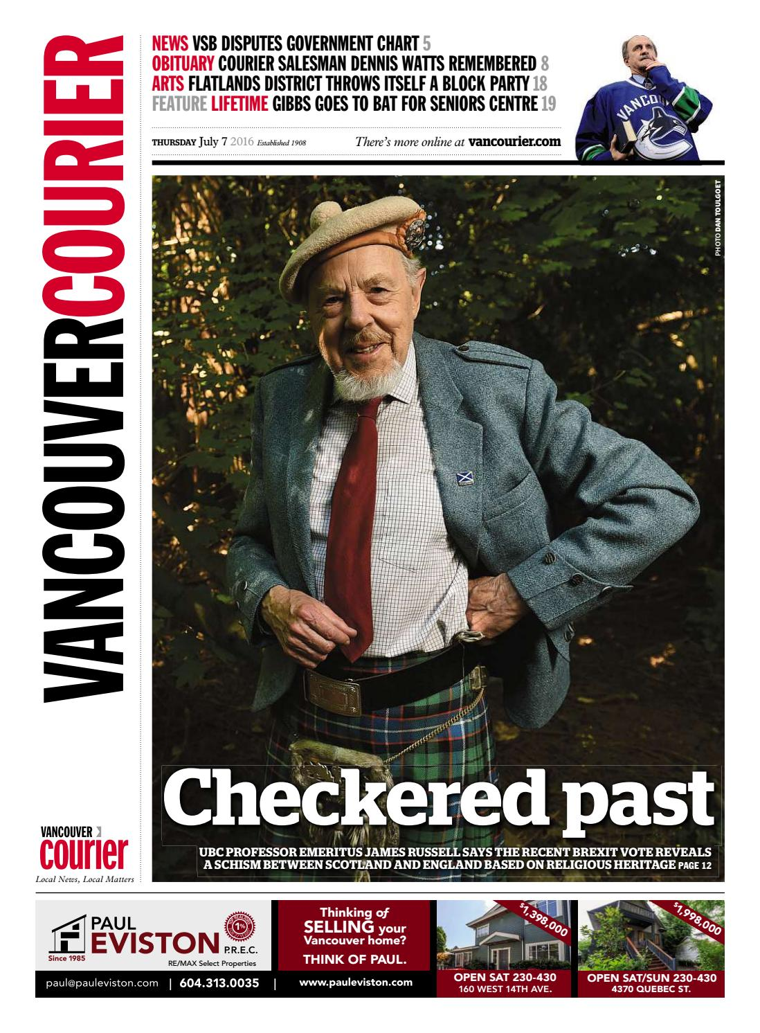 Vancouver Courier July 7 2016 by Vancouver Courier - issuu f10cd1cac6d3