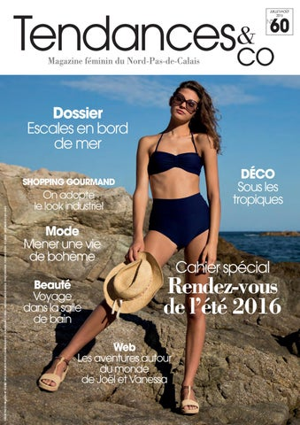 Tendances   Co n°60 juillet août 2016 by Groupe Nord Littoral - issuu 19d11b8b741
