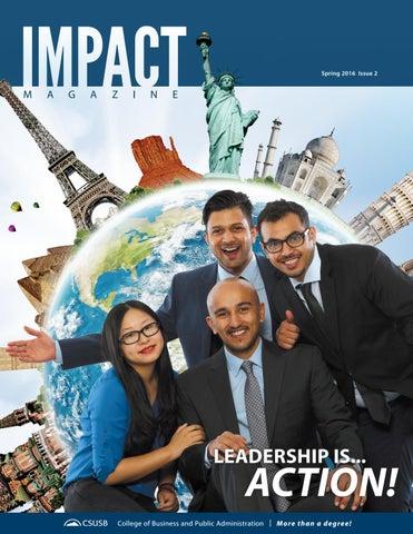 CSUSB Impact Magazine by JHBC IMPACT Magazine - issuu