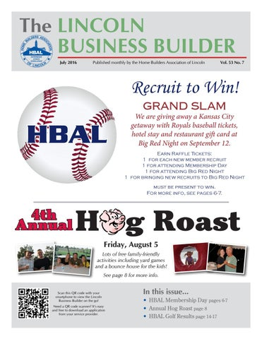 a6832b05 Lincoln Business Builder (July 2016) by Home Builders Association of ...