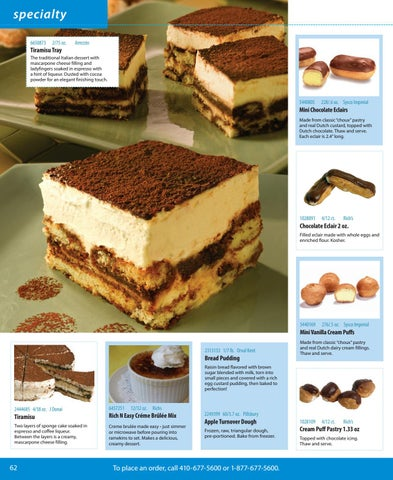 Appetizers & Desserts 2016-2017 by Sysco Eastern Maryland - issuu
