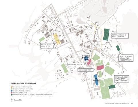 Phillips Academy Campus Master Plan By Phillips Academy Issuu