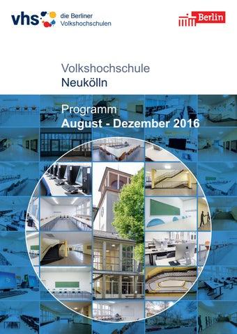 Lehrplan 2 Semester 2016 Vhs Neukölln Berlin By Sinissey