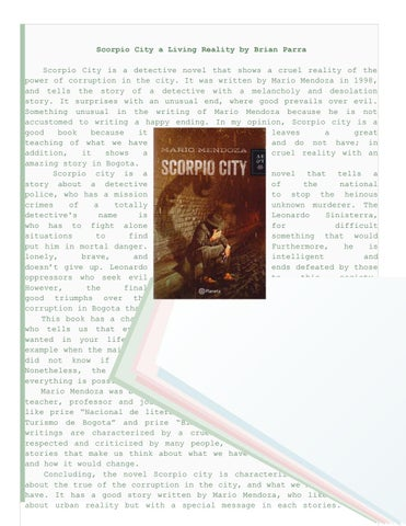 Scorpio city by pieces of the world 3 - issuu