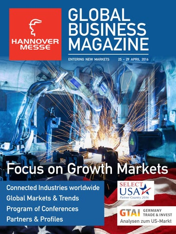 Global Business Magazine HANNOVER MESSE 2016 by local global GmbH ...