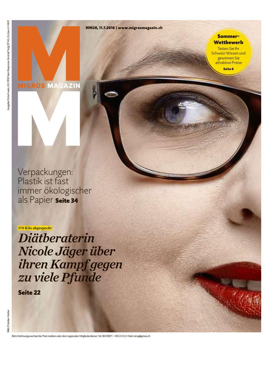 Migros magazin 28 2016 d os by Migros-Genossenschafts-Bund - issuu