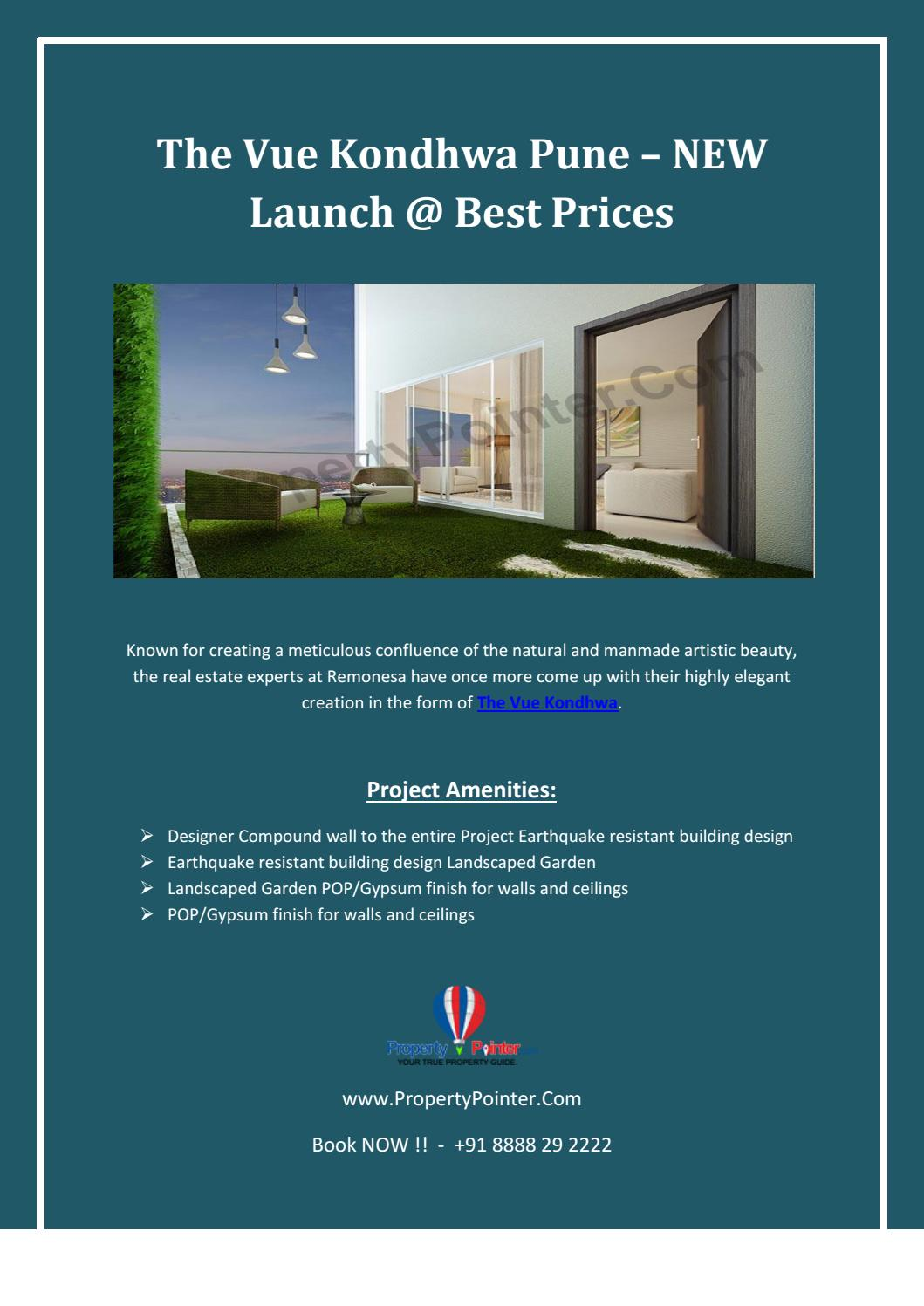 The Vue Kondhwa Pune – NEW Launch @ Best Prices by