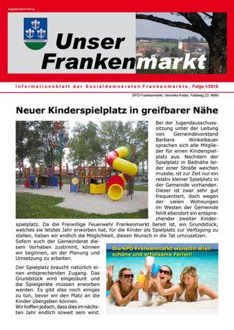 Gemeindeinformation Frankenmarkt Seite 1 September 2018