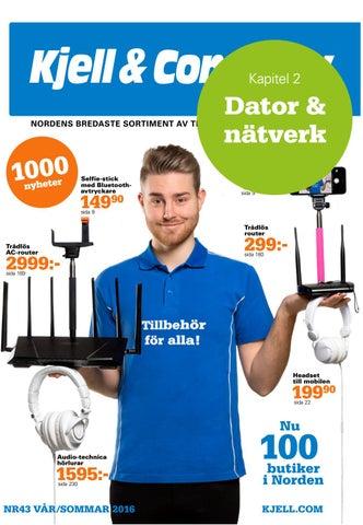 best service 967be 6e410 Katalog 43 Sverige - kapitel 2  Dator   nätverk by Kjell   Company ...