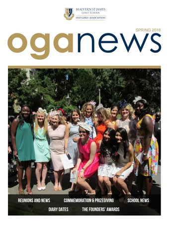 Oga news spring 2016 by malvern st james issuu page 1 fandeluxe Gallery