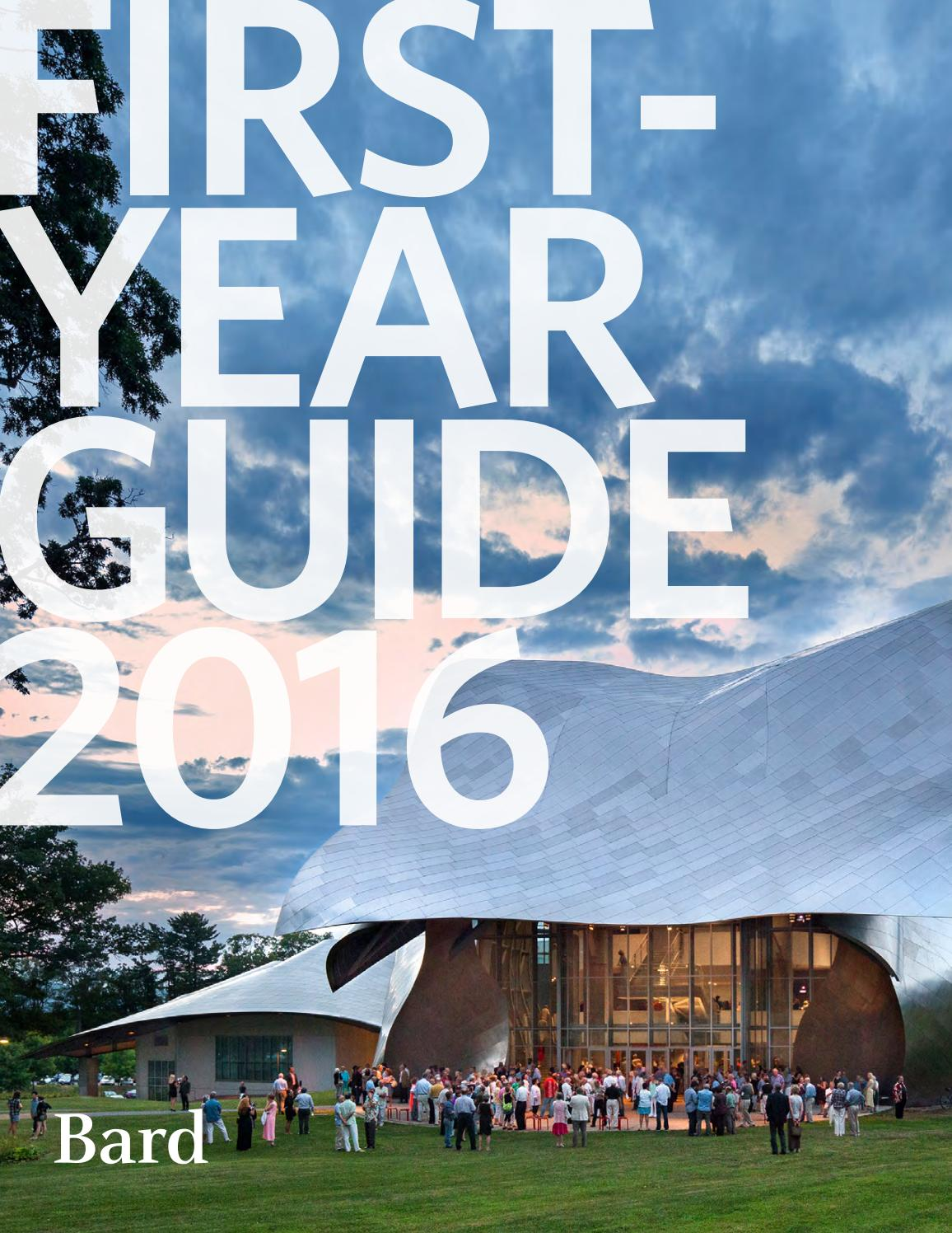 bard college first year students first year guide2016 9 months ago bardcollege