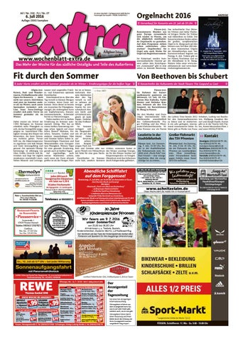 extra Füssen vom Mittwoch, 6. Juli by sign GmbH issuu
