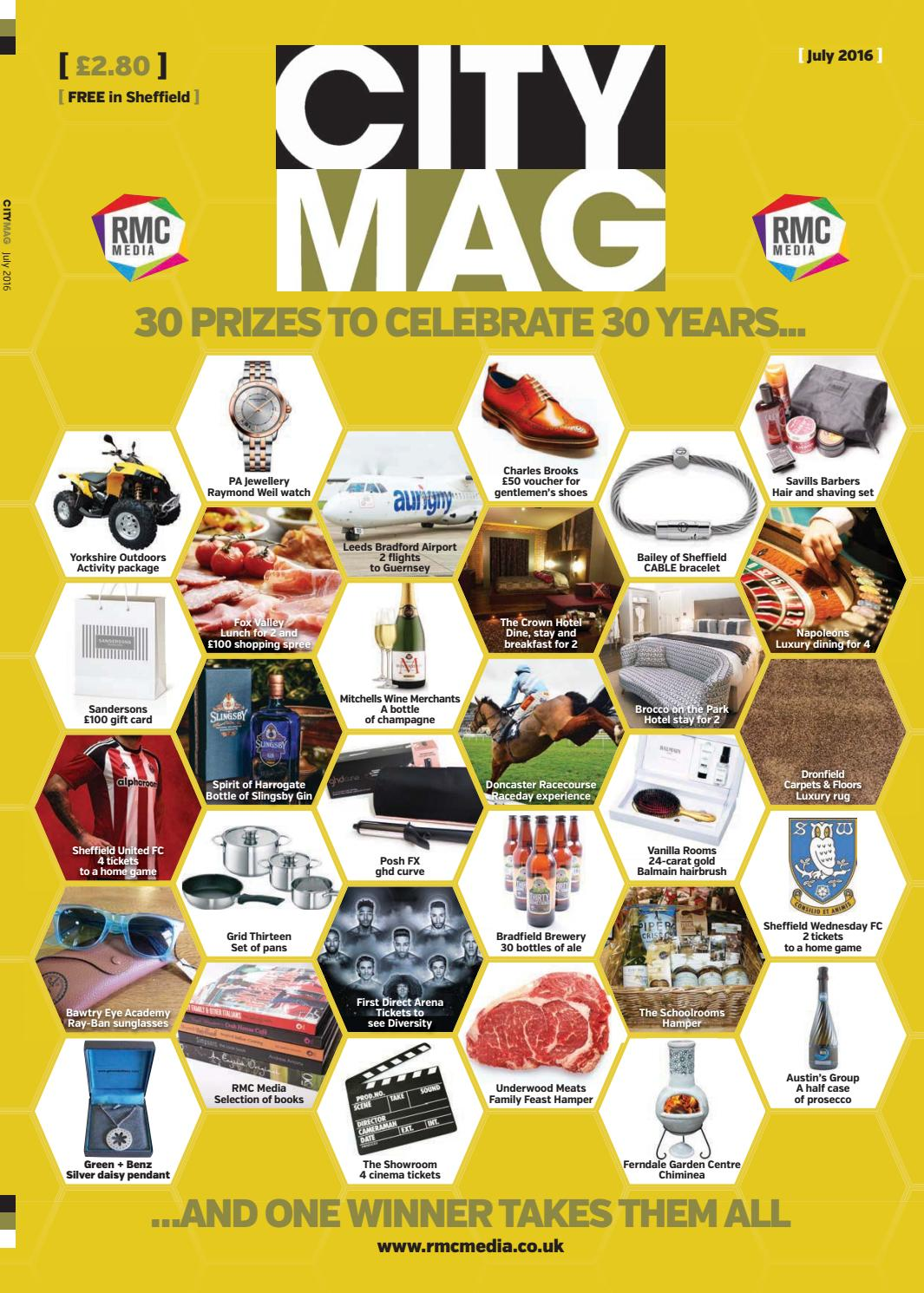 9bb8e87a15 City July 2016 by RMC Media - issuu