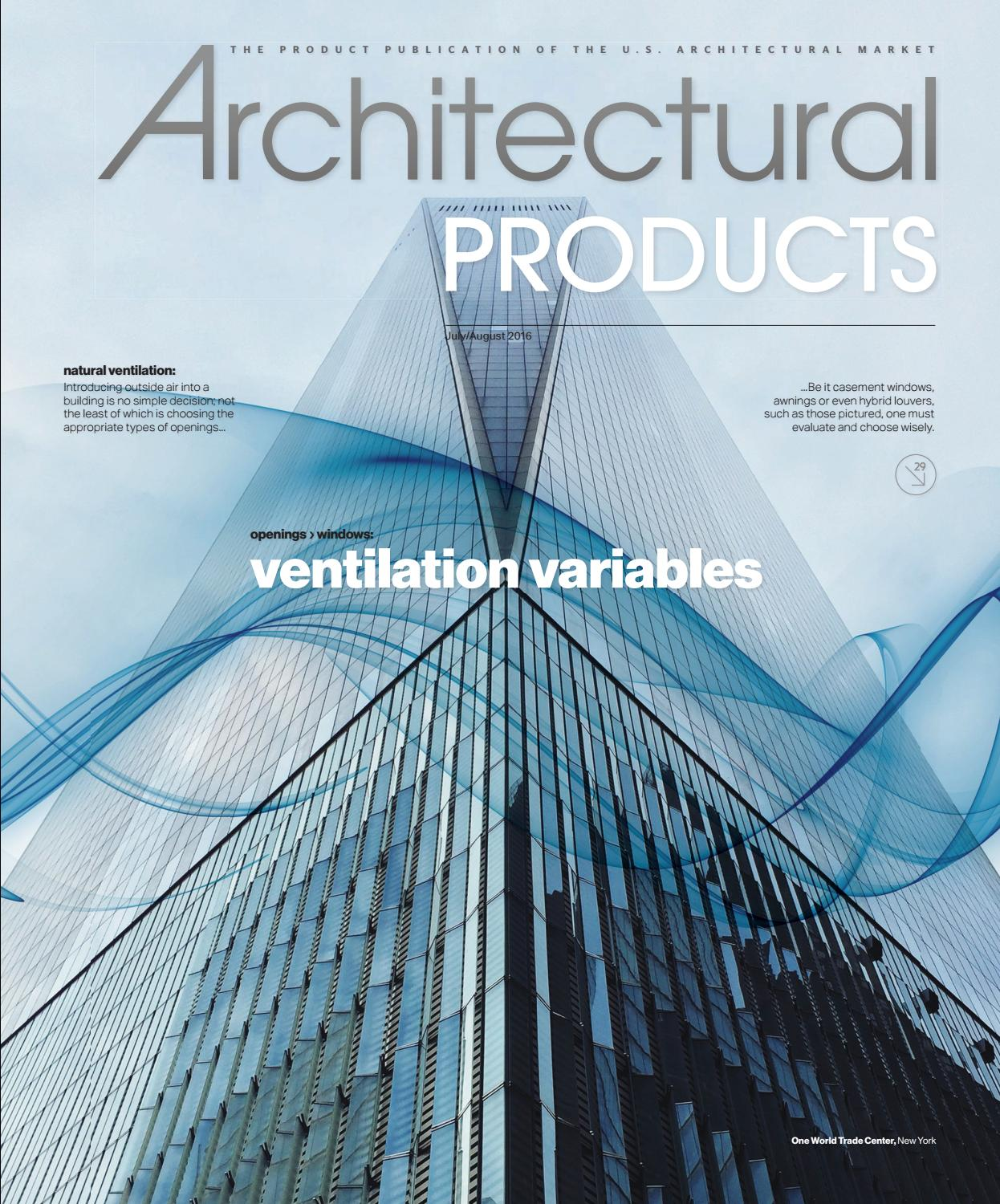 Architectural Products - July/August 2016 by Construction Business ...