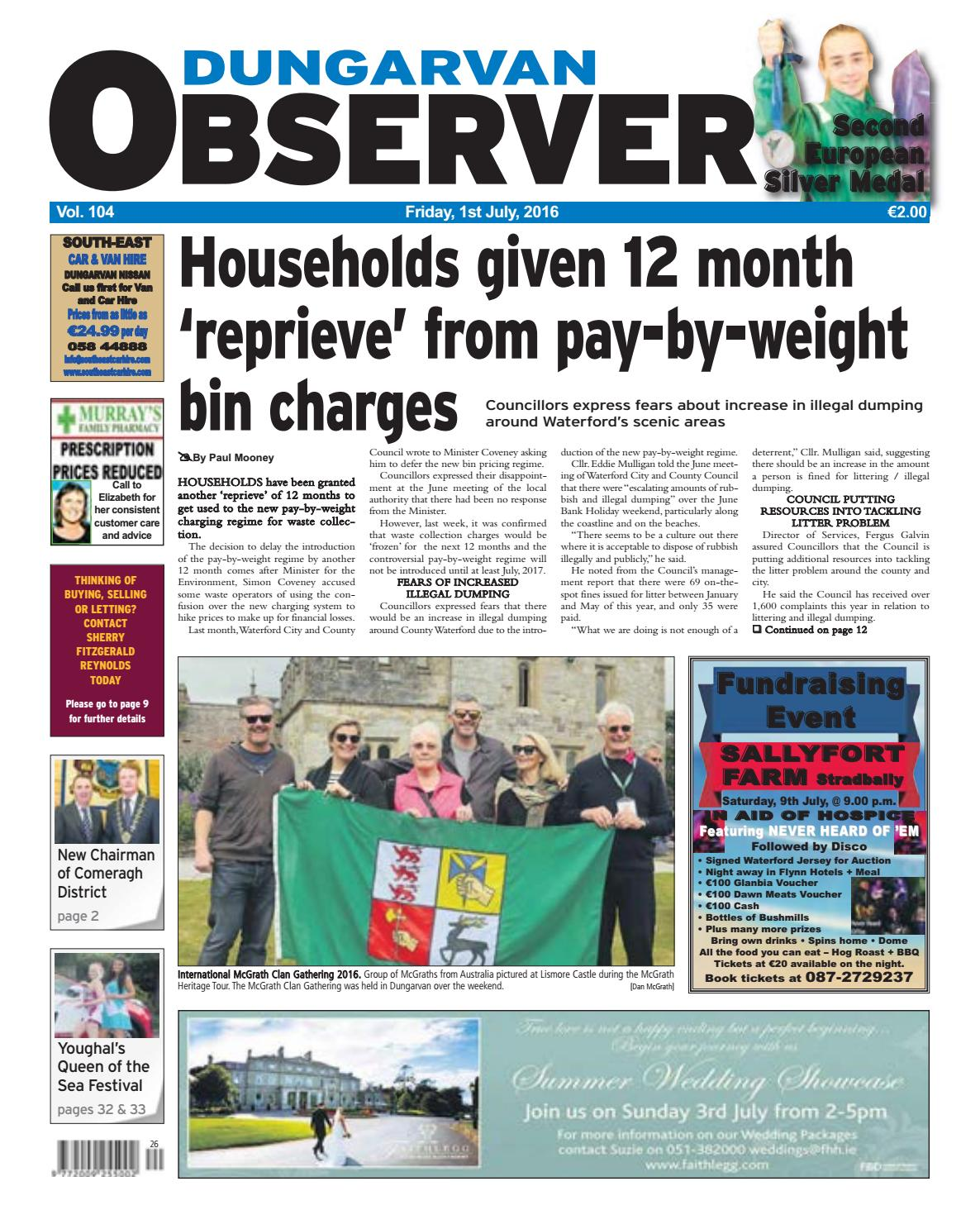 0ef3f4a350f Dungarvan observer 1 7 2016 edition by Dungarvan Observer - issuu