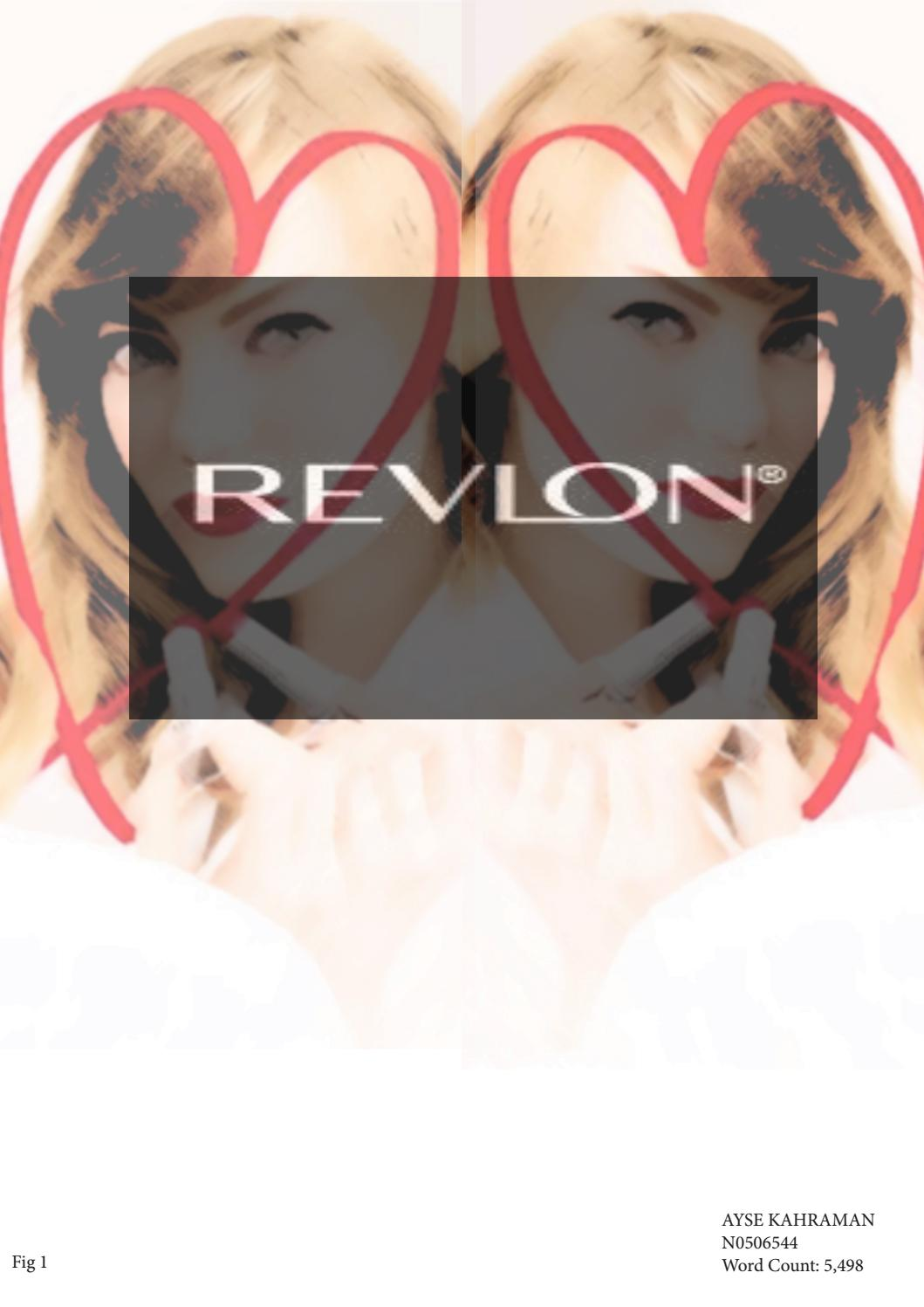 mission and vision of revlon costmetic Revlon is an american cosmetics, skin care, iragrance, and personal care  revlon`s mission statement is too narrow considering the corporate social.